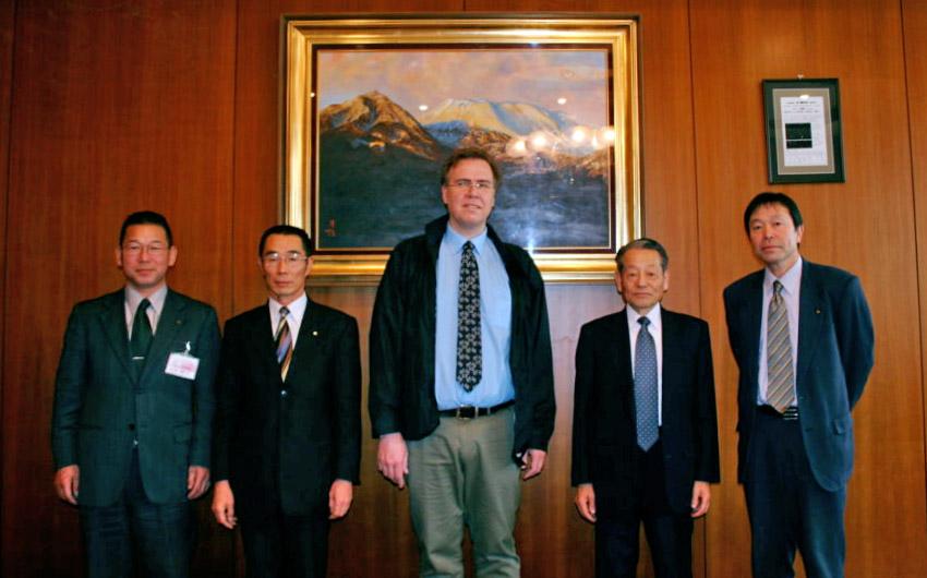 visite officielle de Pascal Lugon au Japon en 2006